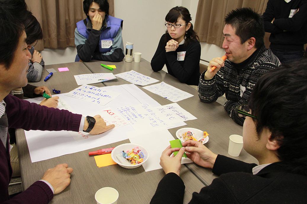 まちの課題を考え、2020年の未来を描き出す── 第一回「釜石・大槌まち未来会議」レポート