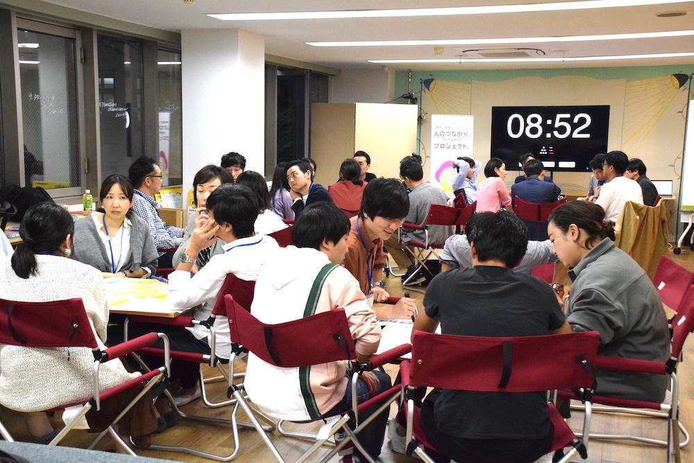 """「渋谷をつなげる30人」Day5 (2019/10/17)レポート〜経験者から学んだ先にある""""成長""""〜"""