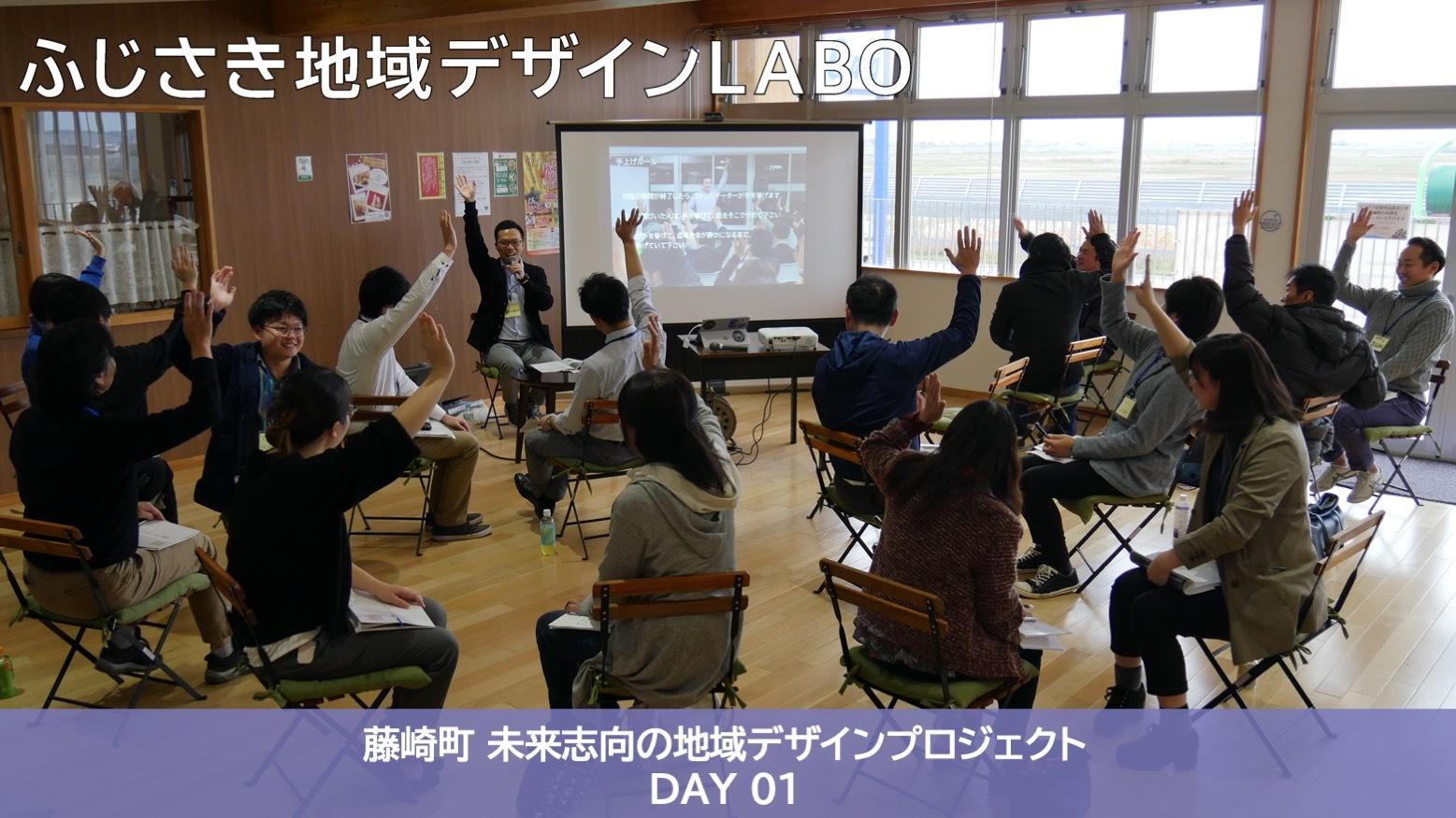 【藤崎町 未来志向の地域デザインプロジェクト 2019】ファシリテーター講座 DAY01