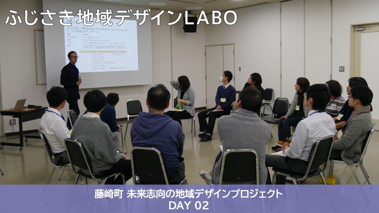 【藤崎町 未来志向の地域デザインプロジェクト 2019】ファシリテーター講座 DAY02