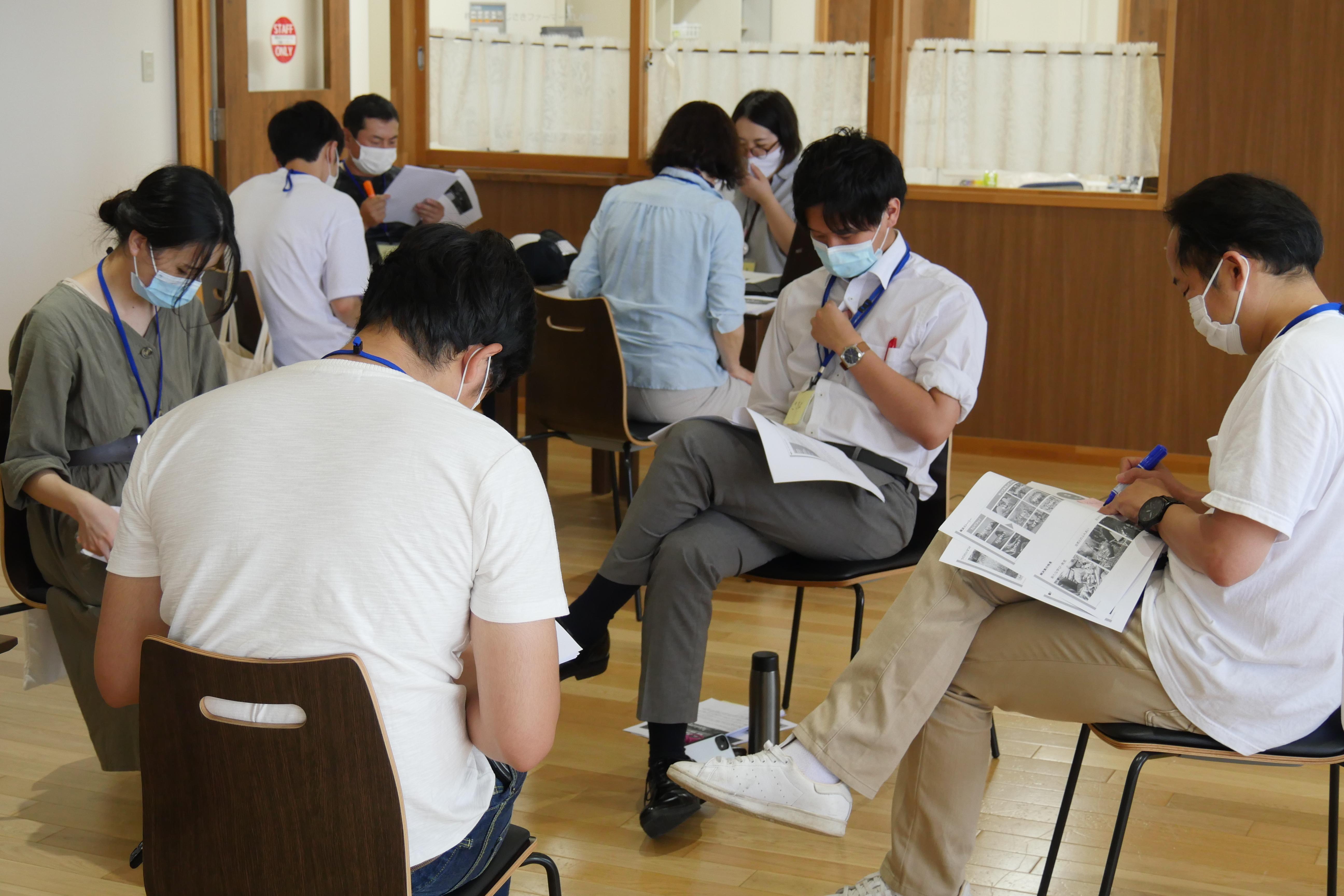 【藤崎町 未来志向の地域デザインプロジェクト 2020】リプランニング 企画計画確認<チーム合同>