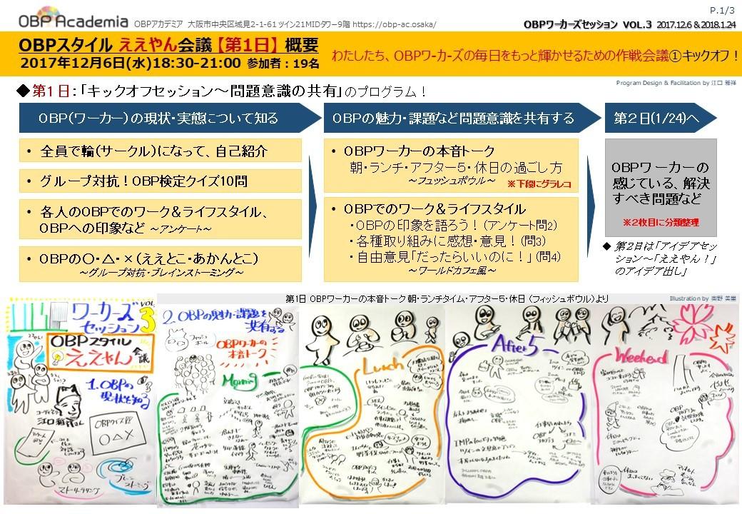 OBPスタイル ええやん会議~OBPワーカーズセッションvol.3~
