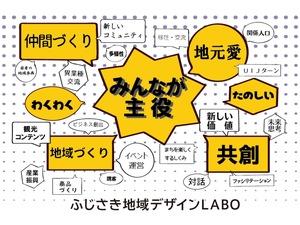 ふじさき地域デザインLABO 藤崎町未来志向の地域デザインプロジェクト オープニングセッション