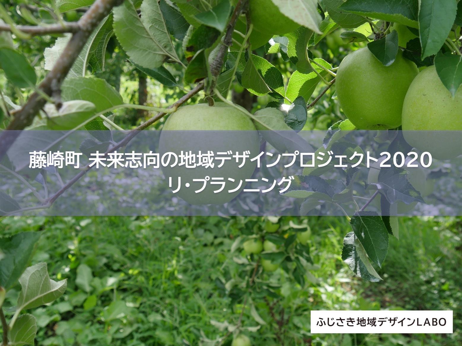 【藤崎町 未来志向の地域デザインプロジェクト 2020】リプランニング 企画計画ブラッシュアップ②