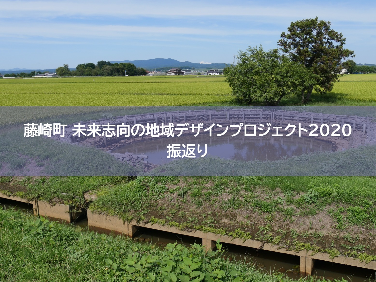 【藤崎町 未来志向の地域デザインプロジェクト 2020】振返り・次年度計画セッション<チーム合同>